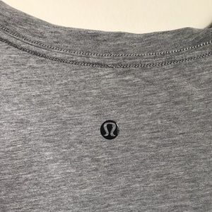 Plain grey lululemon shirt